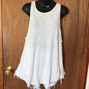 Lucky Brand Lace Back Tank Top